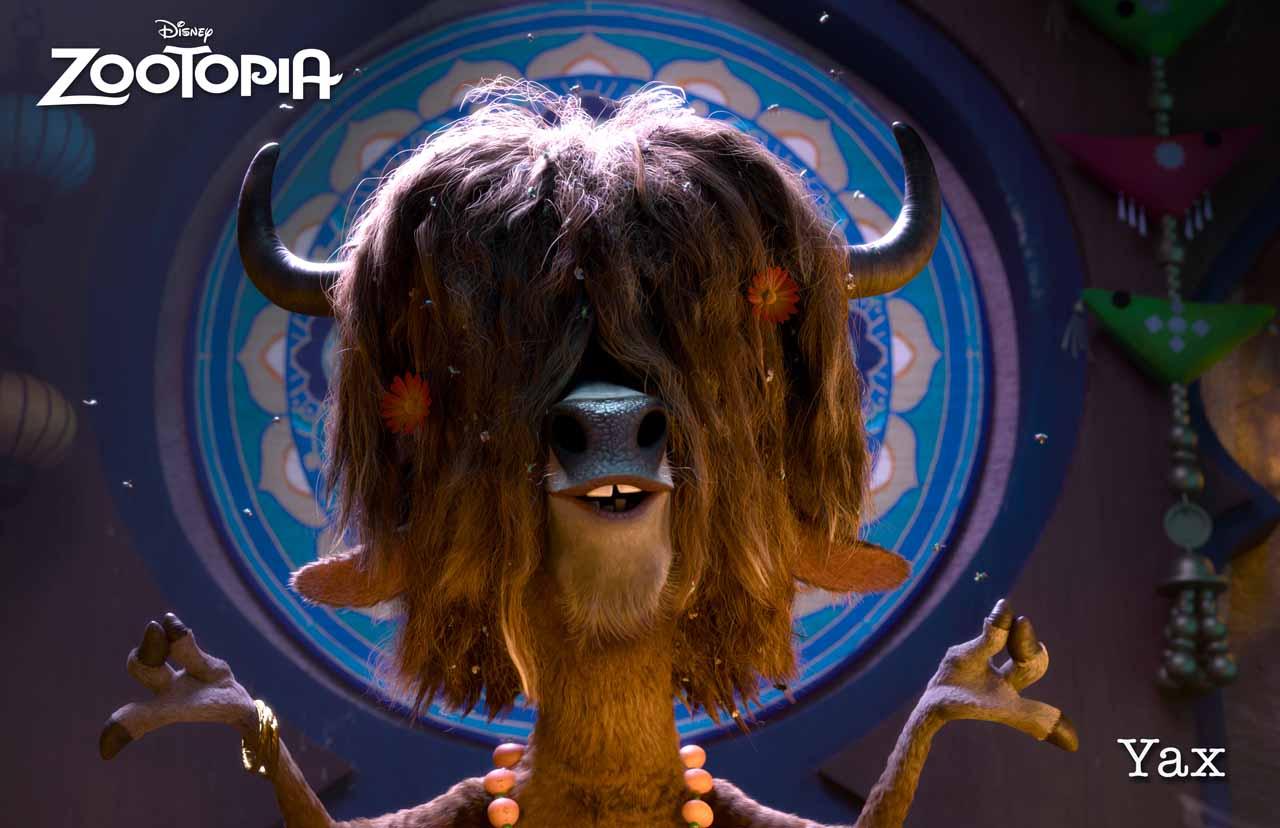 Zootropolis: una foto dello yak Yax