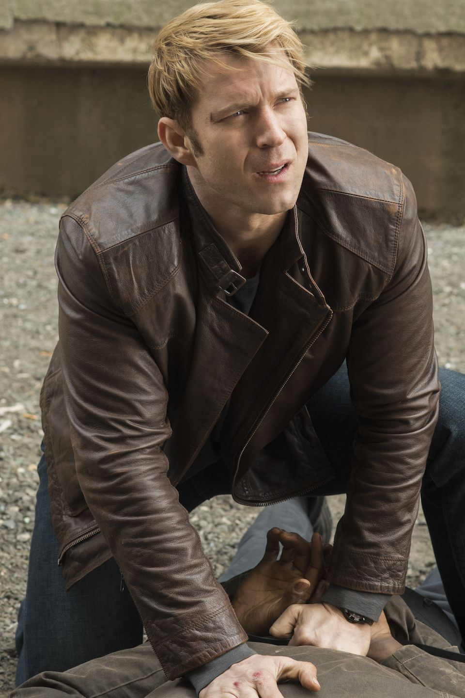 Jessica Jones: Wil Traval in una foto tratta dal pilot