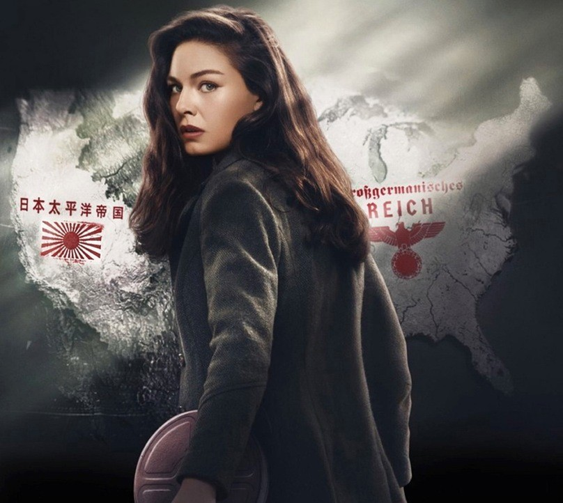 The Man In The High Castle: una foto promozionale di Alexa Davalos