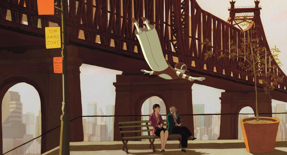 Phantom Boy: una bella immagine del film animato