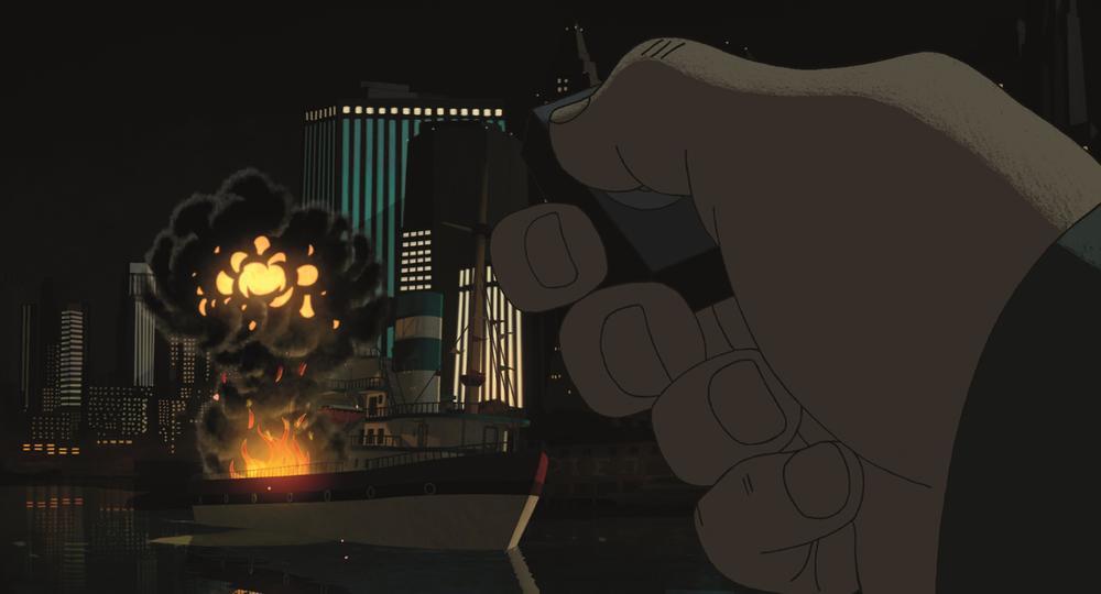 Phantom Boy: una scena del film animato