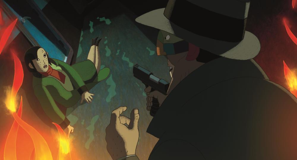 Phantom Boy: una scena tratta dal film d'animazione