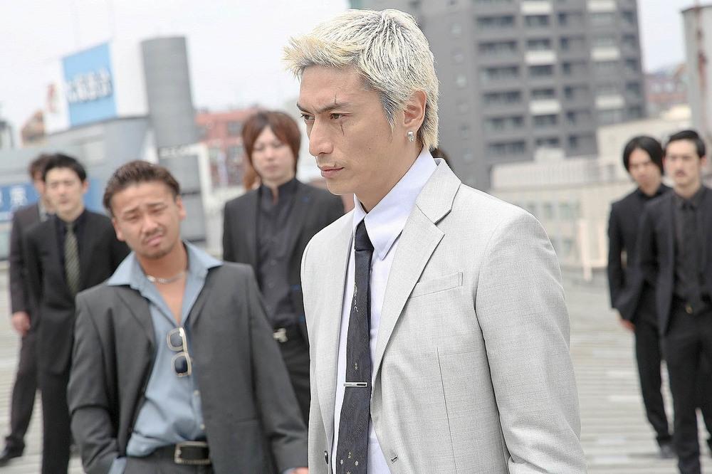 Shinjuku swan: una scena del film