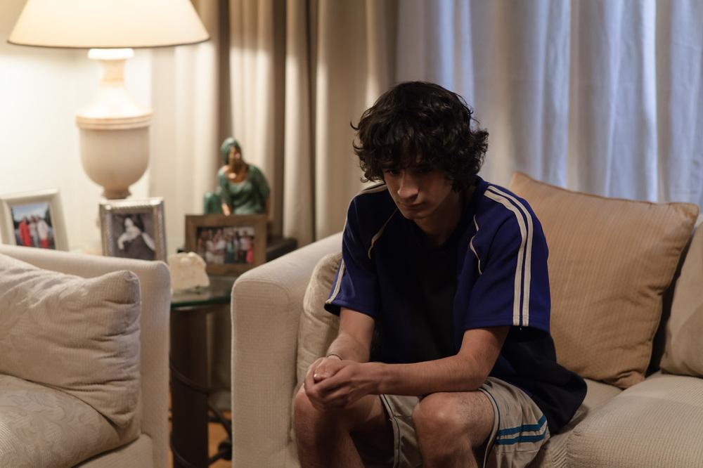 Sopladora de hojas: un'immagine tratta dal film