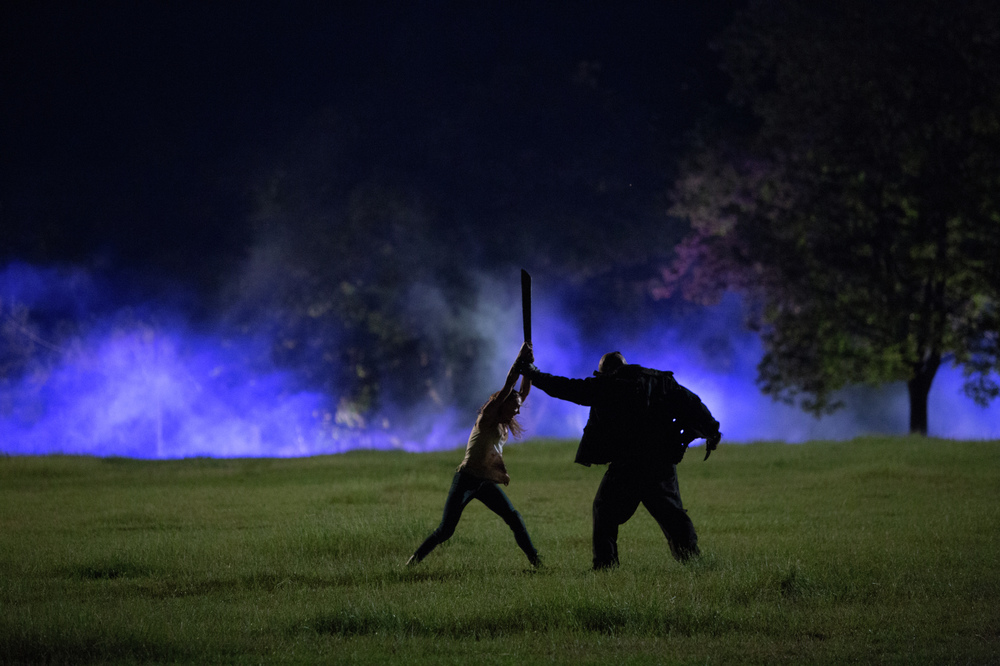 The Final Girls: una scena del film horror