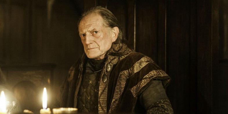 David Bradley interpreta Walder Frey nella serie Il trono di spade