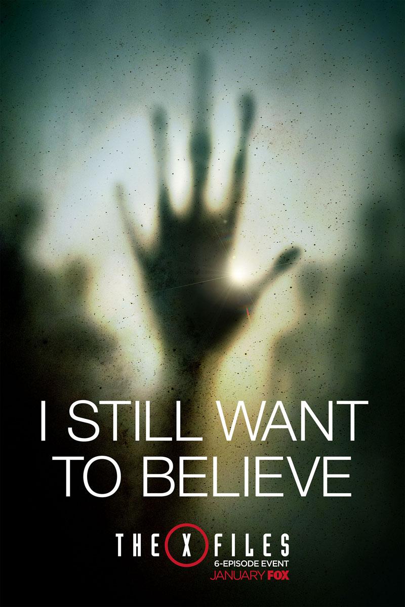 X-Files: un poster della serie revival