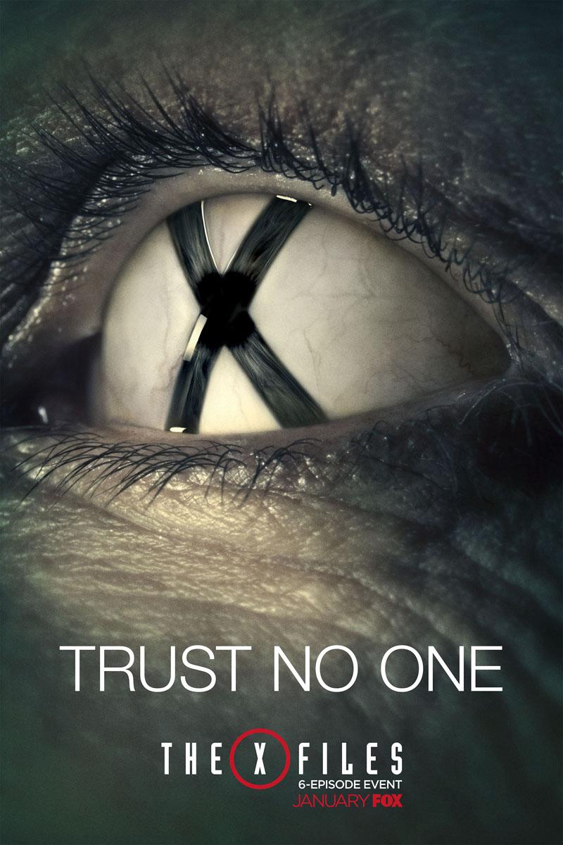 X-Files: un inquietante poster della serie