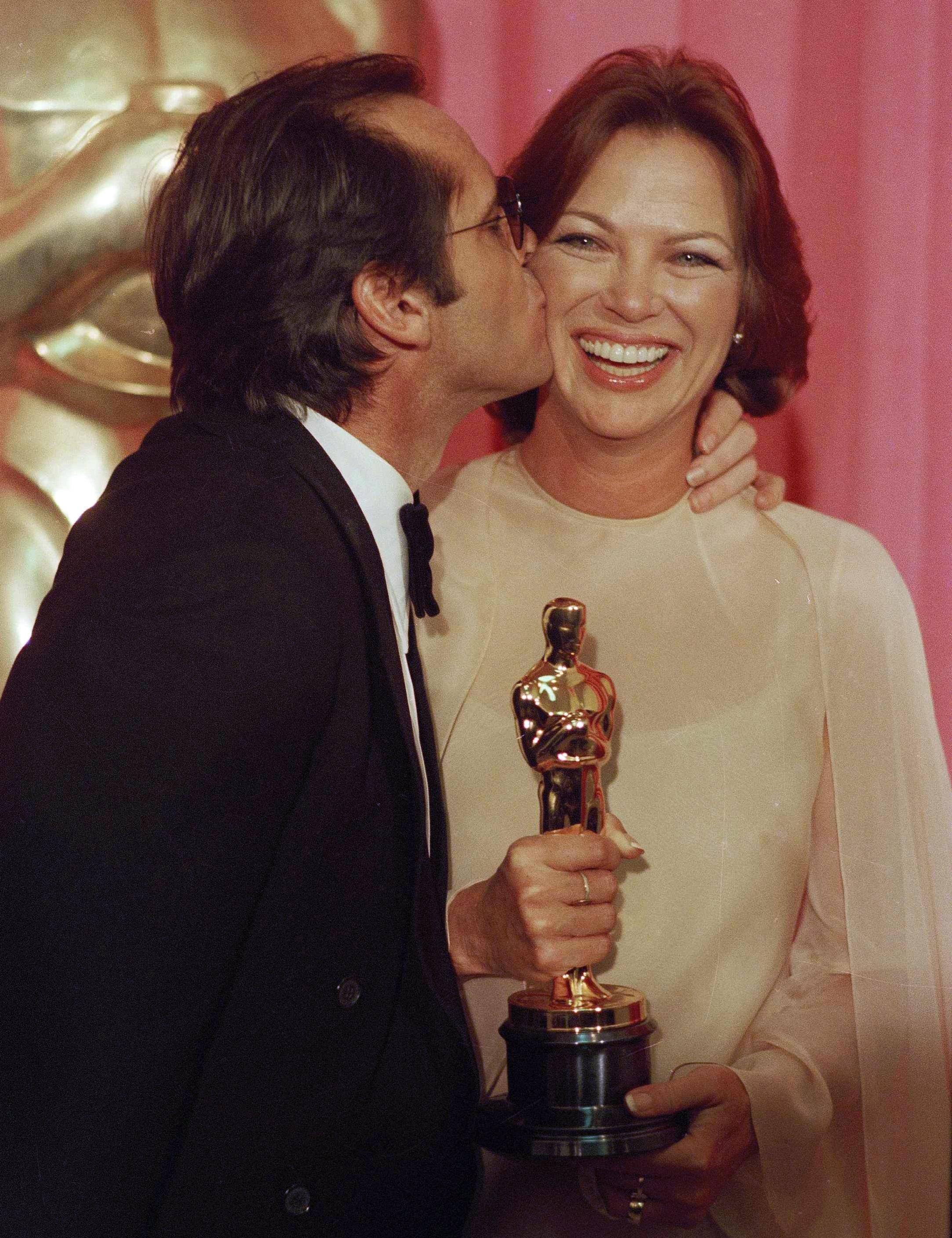 Qualcuno volo sul nido del cuculu: Louise Fletcher e Jack Nicholson agli Oscar