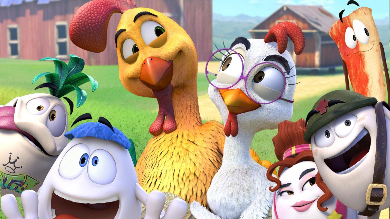 Pedro - Galletto coraggioso: un'immagine del film d'animazione
