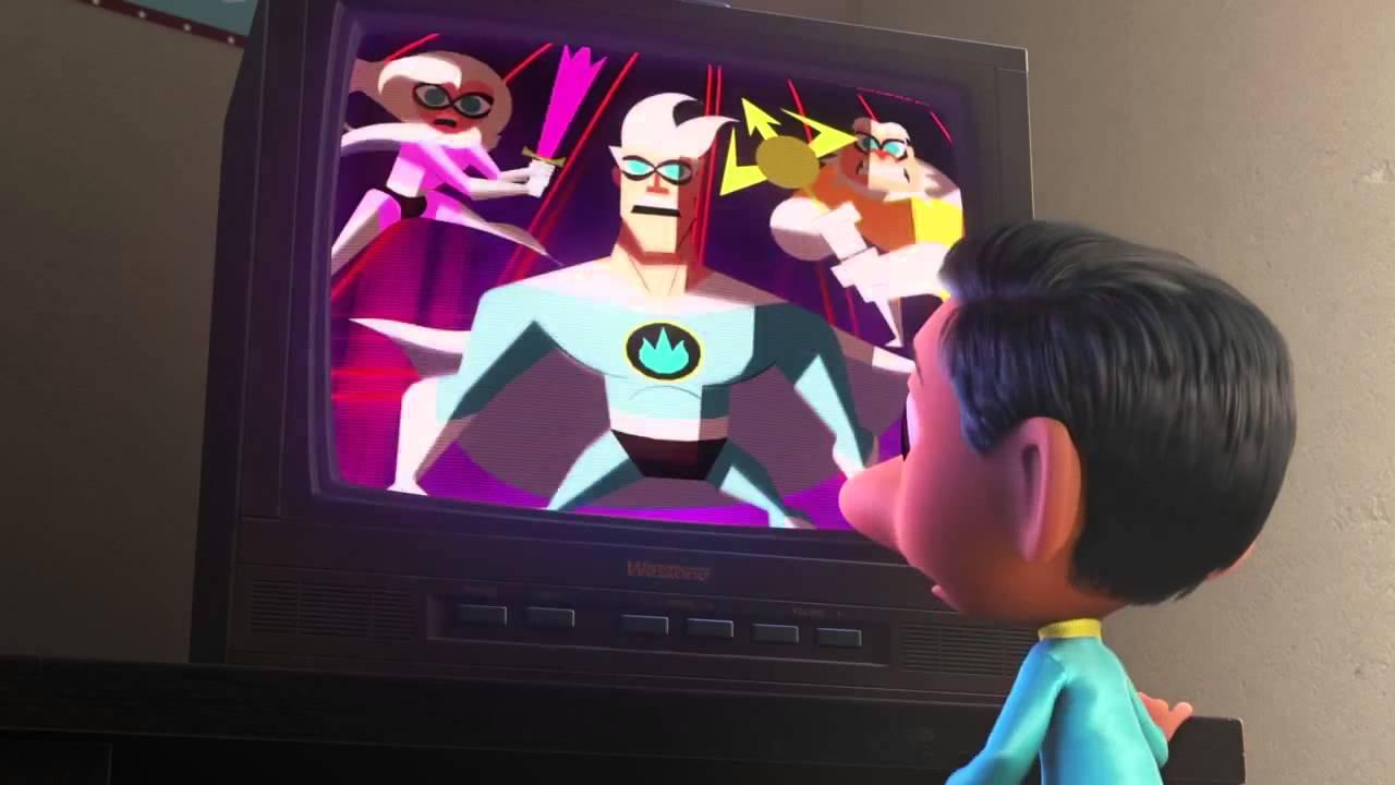 Il super team di Sanjay: un'immagine tratta dal cortometraggio Pixar