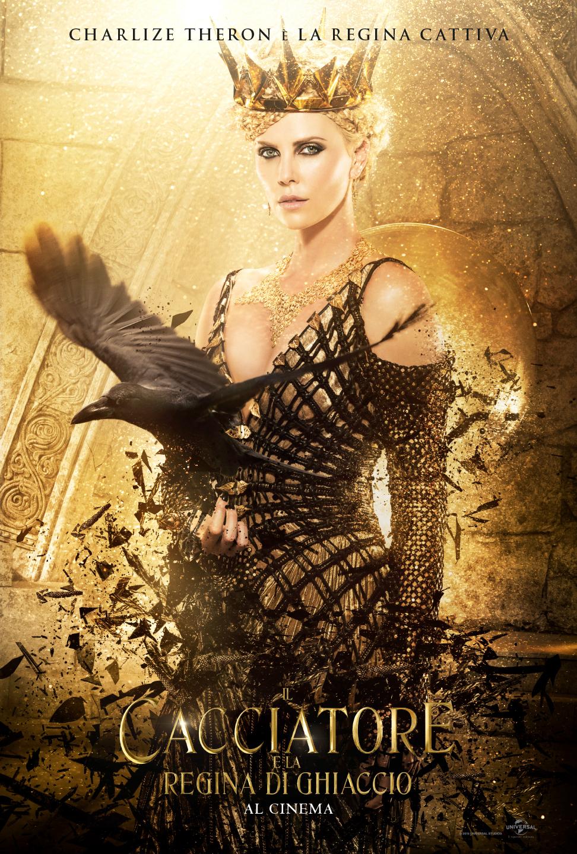 Il Cacciatore e la Regina di ghiaccio: il character poster di Charlize Theron