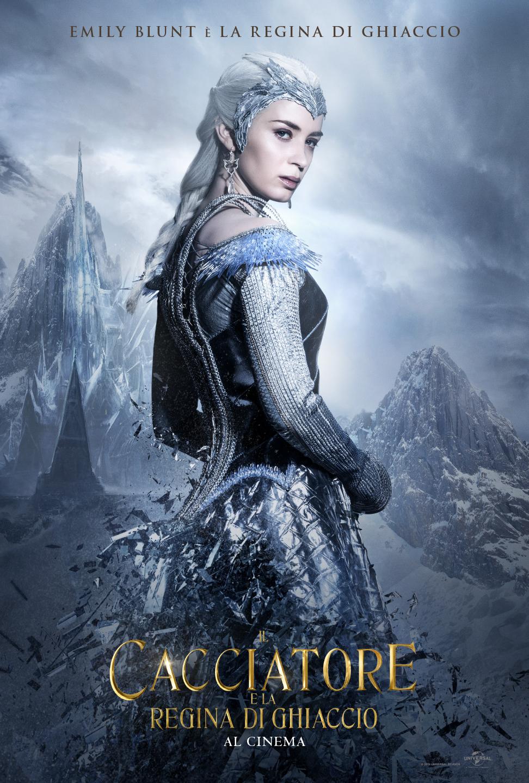 Il Cacciatore e la Regina di ghiaccio: il character poster di Emily Blunt