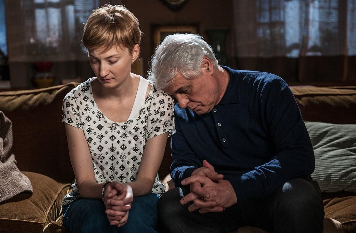 In Treatment: Alba Rohrwacher e Michele Placido in una foto della seconda stagione