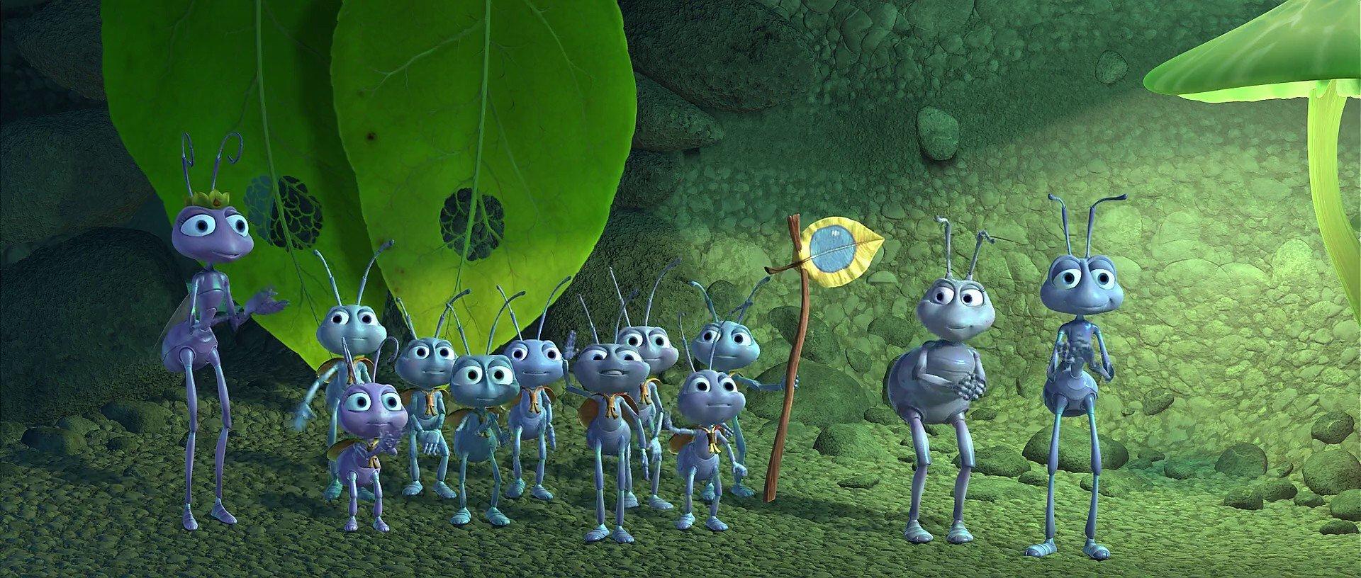 A Bug's Life: un'immagine del film Pixar