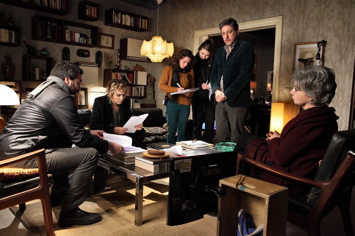 In Treatment: il cast della serie durante le riprese