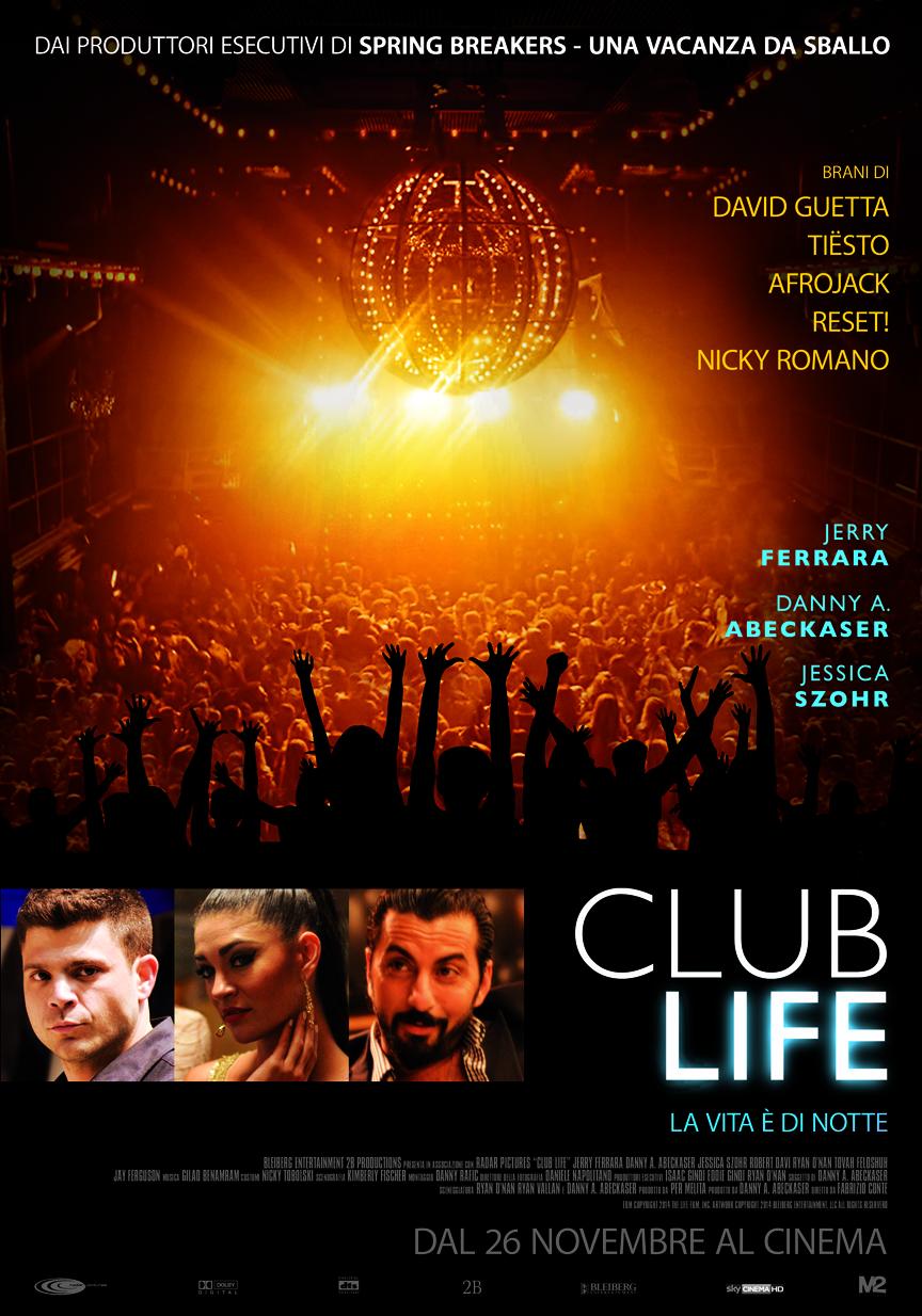 Locandina italiana di Club Life