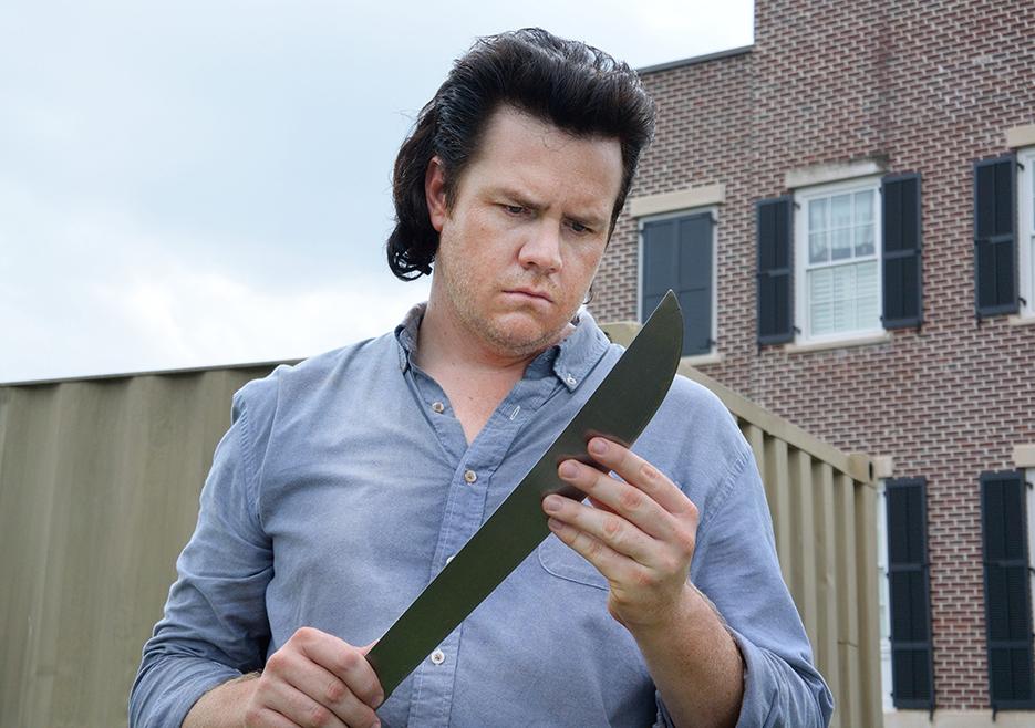 The Walking Dead: l'attore Josh McDermitt nell'episodio Heads Up