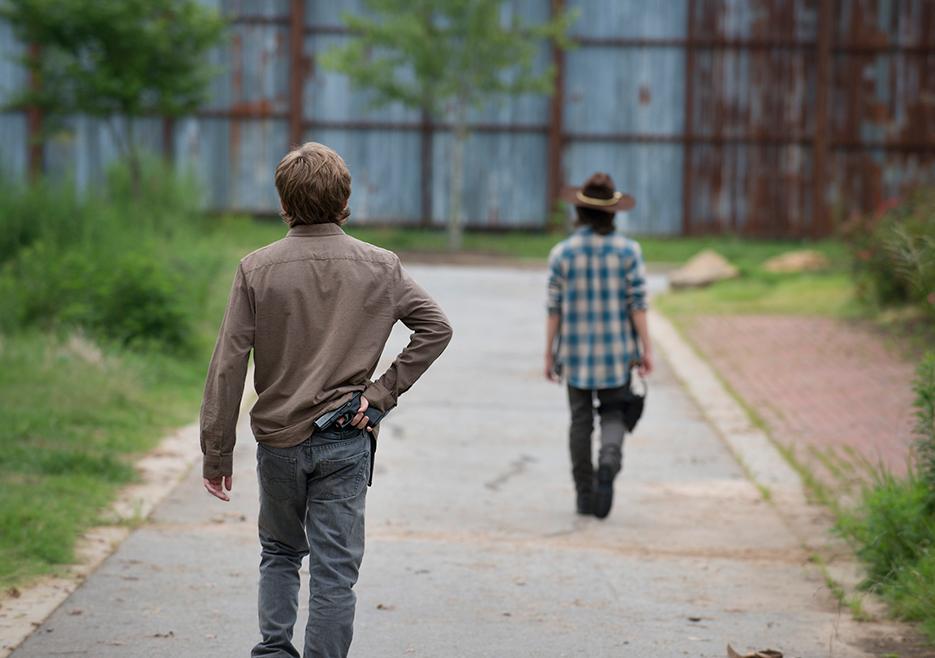 The Walking Dead: una scena dell'episodio Heads Up