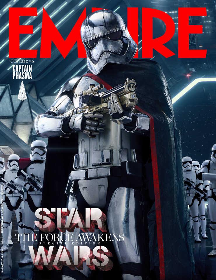 Star Wars: Il Risveglio della Forza - La copertina di Empire dedicata a Captain Phasma