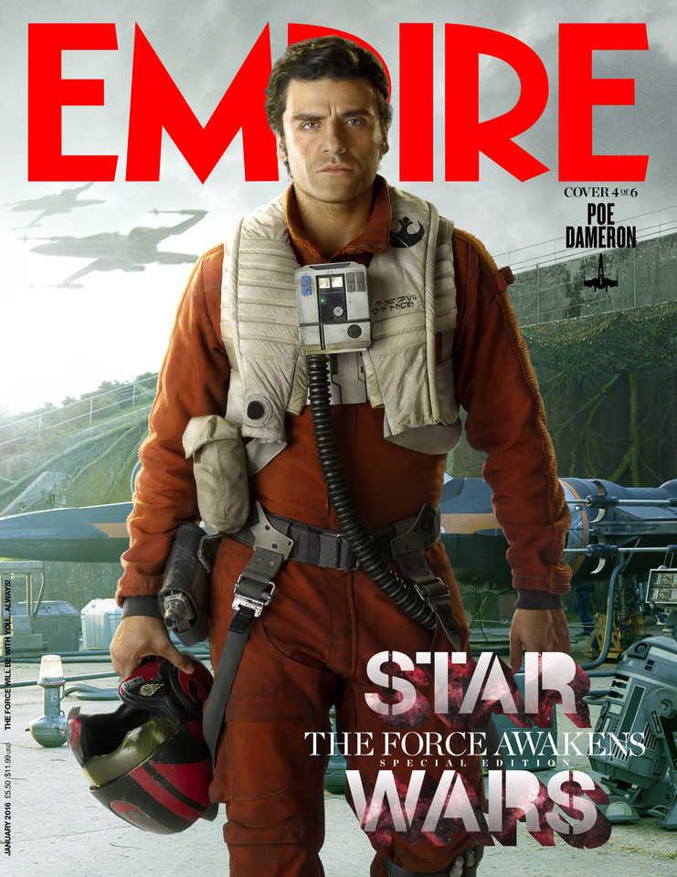 Star Wars: Il Risveglio della Forza - La copertina di Empire dedicata a Poe Dameron