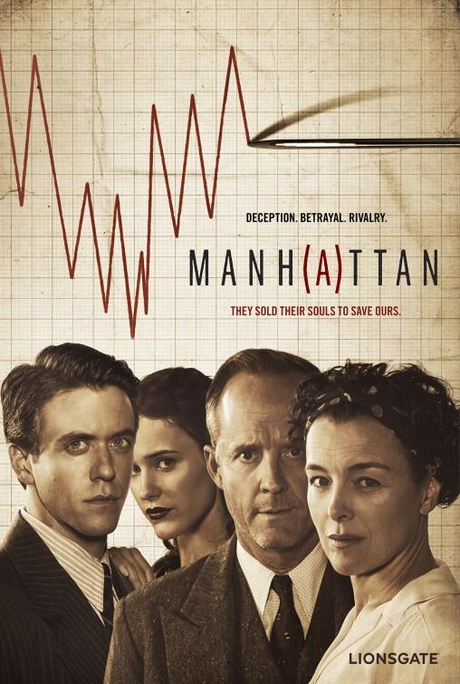 Manhattan: una locandina della serie