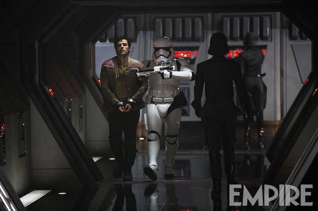 Star Wars: Il Risveglio della Forza - Poe Dameron prigioniero in una nuova foto del film
