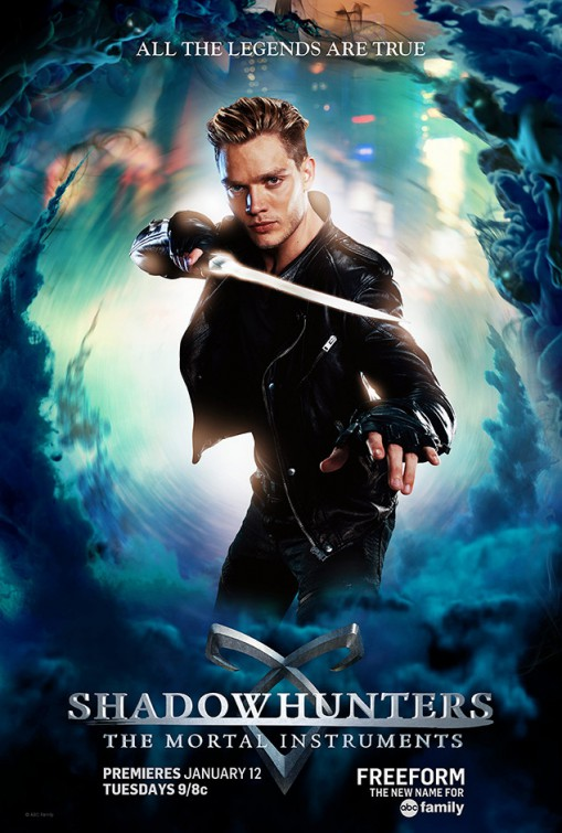 Shadowhunters: il character poster di Dominic Sherwood