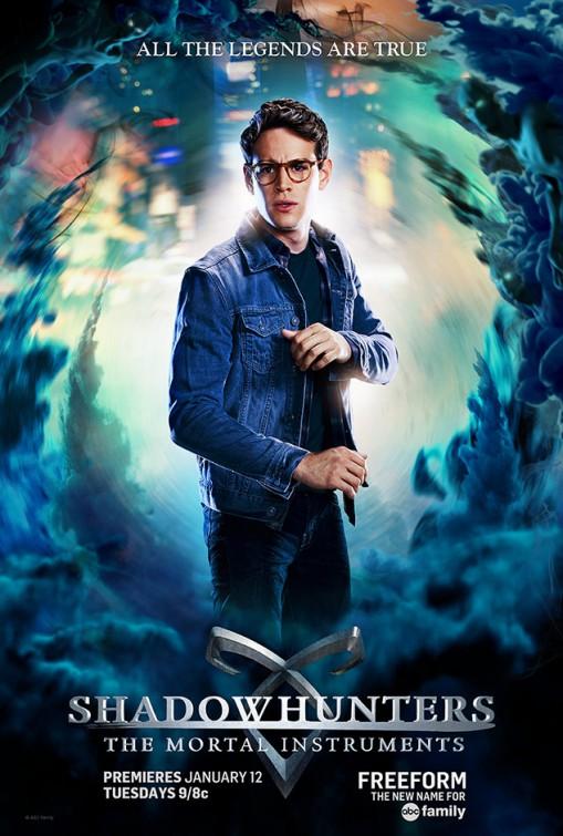 Shadowhunters: un poster promozionale della serie