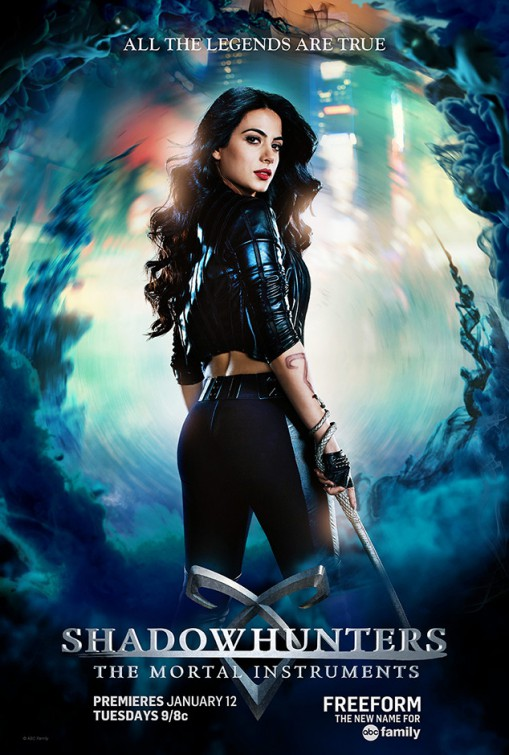 Shadowhunters: il character poster di Emeraude Toubia