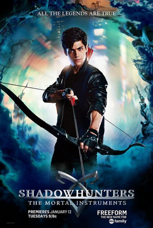 Shadowhunters: un'immagine promozionale della serie