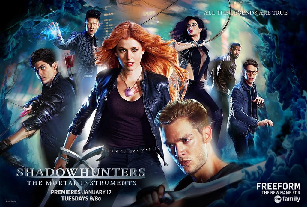 Shadowhunters: un wallpaper della serie