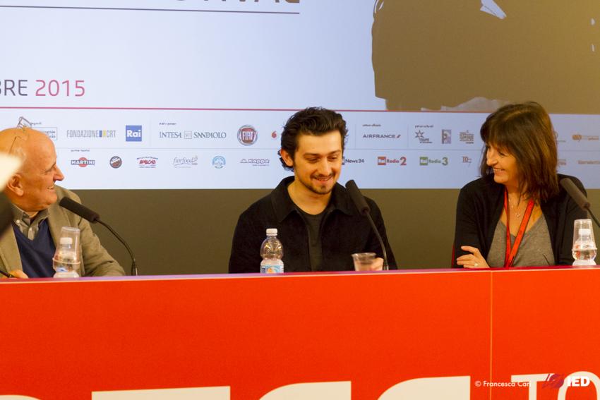 Just Jim: un momento della conferenza stampa di Craig Roberts al Torino Film festival