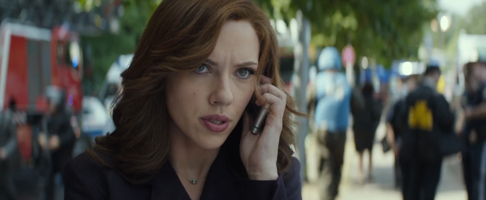 Captain America: Civil War: Scarlett Johansson nel primo trailer del film Marvel