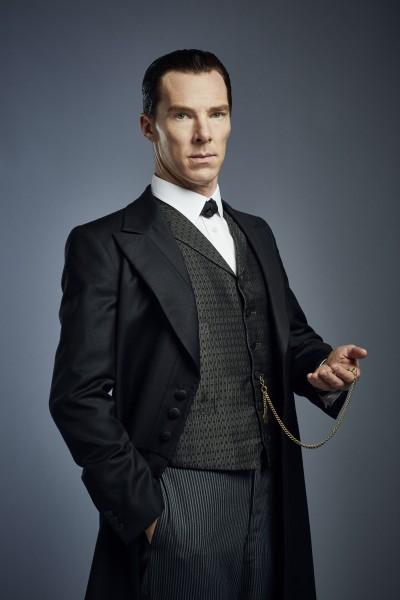 Sherlock: Benedict Cumberbatch nel character poster dello speciale The Abominable Bride