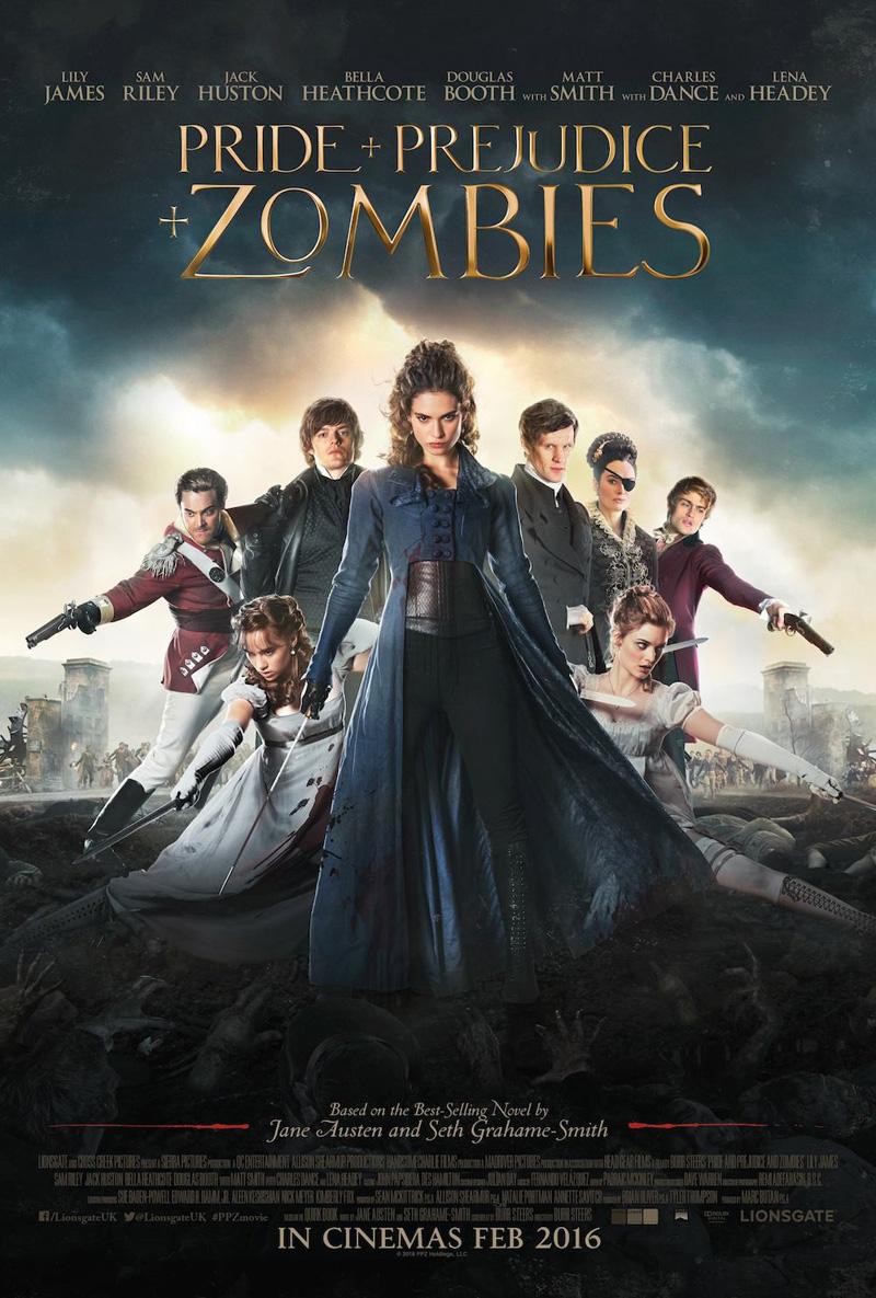 Orgoglio e Pregiuizio e Zombie: un poster dedicato ai protagonisti
