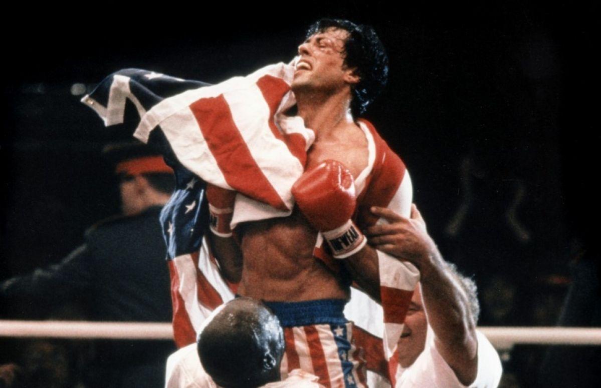 La scena finale di Rocky 4