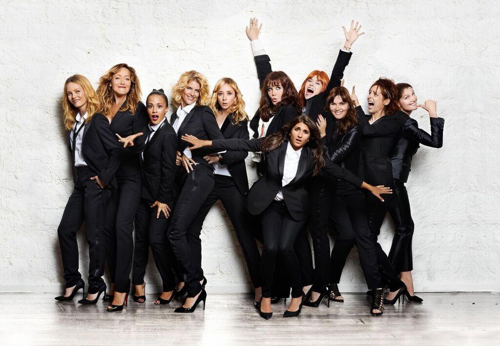 11 donne a Parigi: una foto promozionale del film con tutte le 11 protagoniste