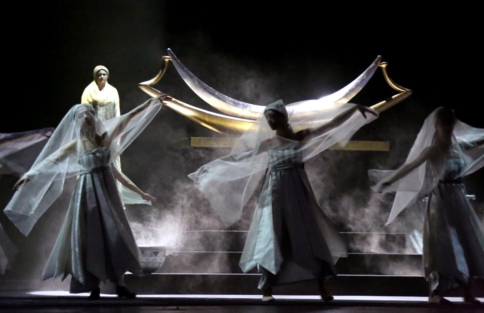 Aida - Teatro alla Scala: un'immagine dello spettacolo dal vivo
