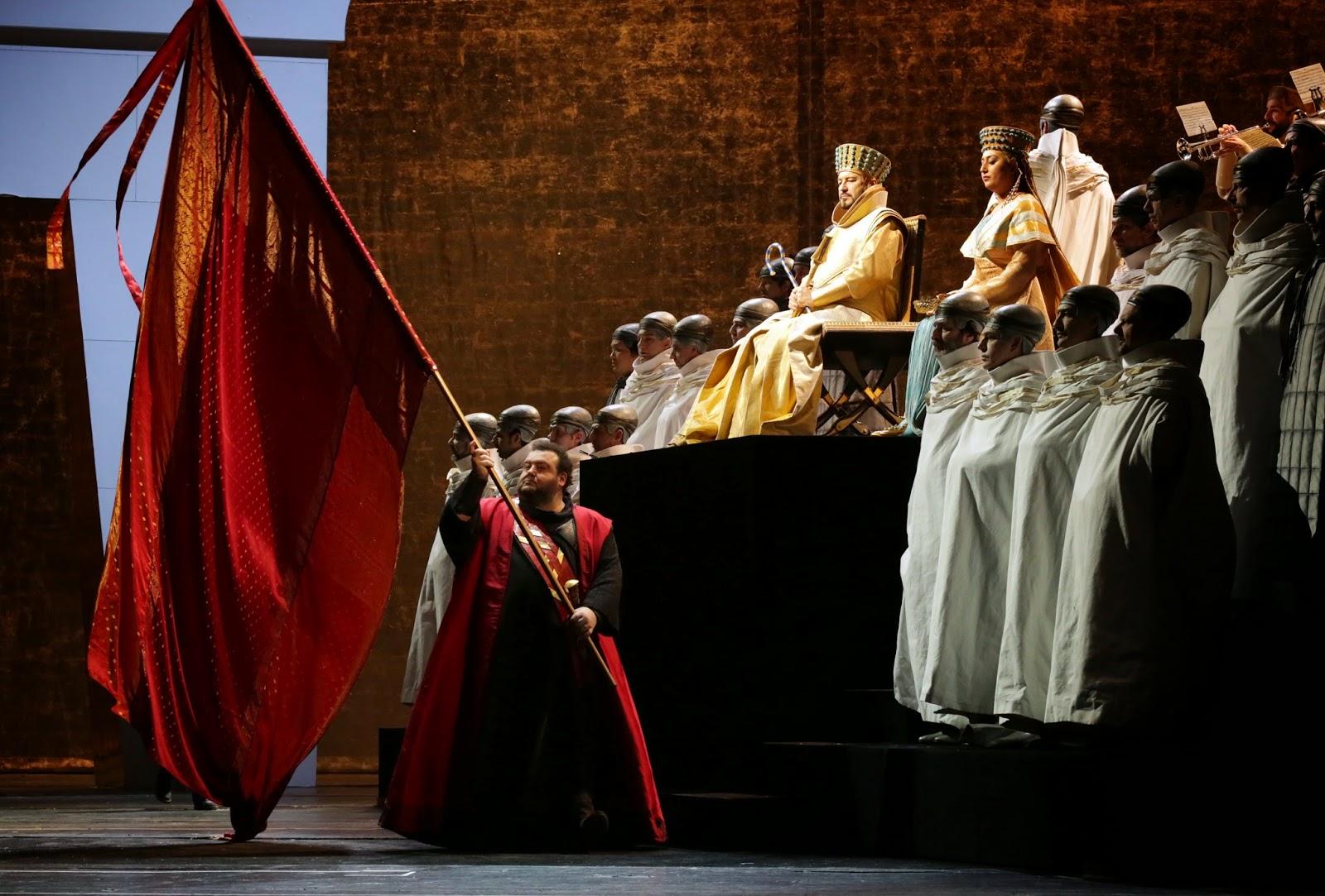 Aida - Teatro alla Scala: un'immagine tratta dallo spettacolo dal vivo