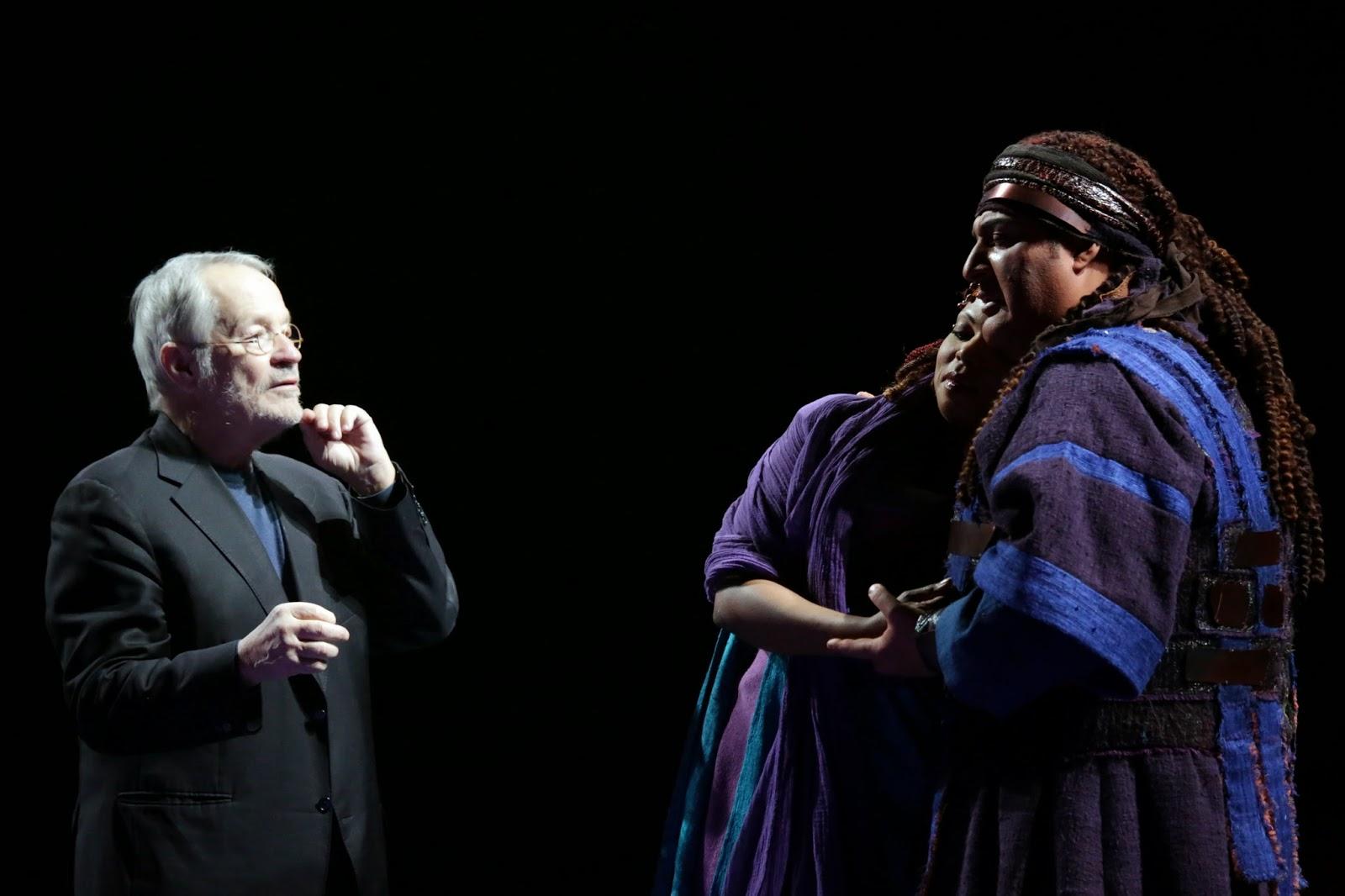 Aida - Teatro alla Scala: il regista teatrale tedesco Peter Stein sul palco
