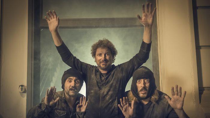 Il professor Cenerentolo: Leonardo Pieraccioni, Massimo Ceccherini e Nicola Acunzo in un'immagine promozionale del film