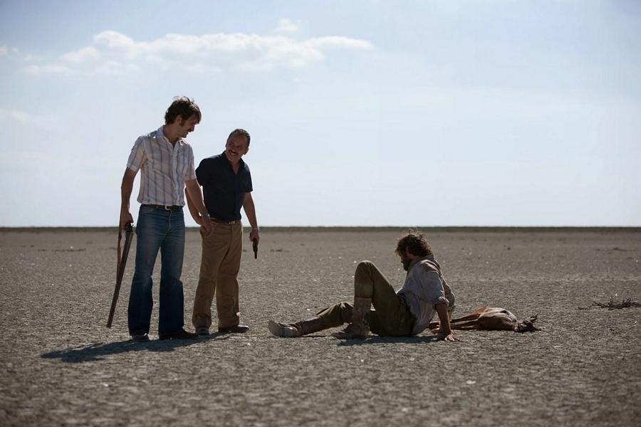La isla mínima: Raúl Arévalo e Javier Gutiérrez in una scena