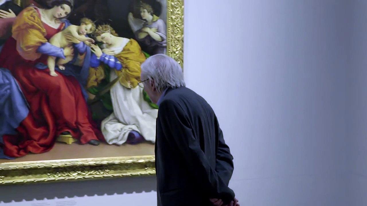 L'Accademia Carrara - Il museo riscoperto: un'immagine tratta dal film di Davide Ferrario