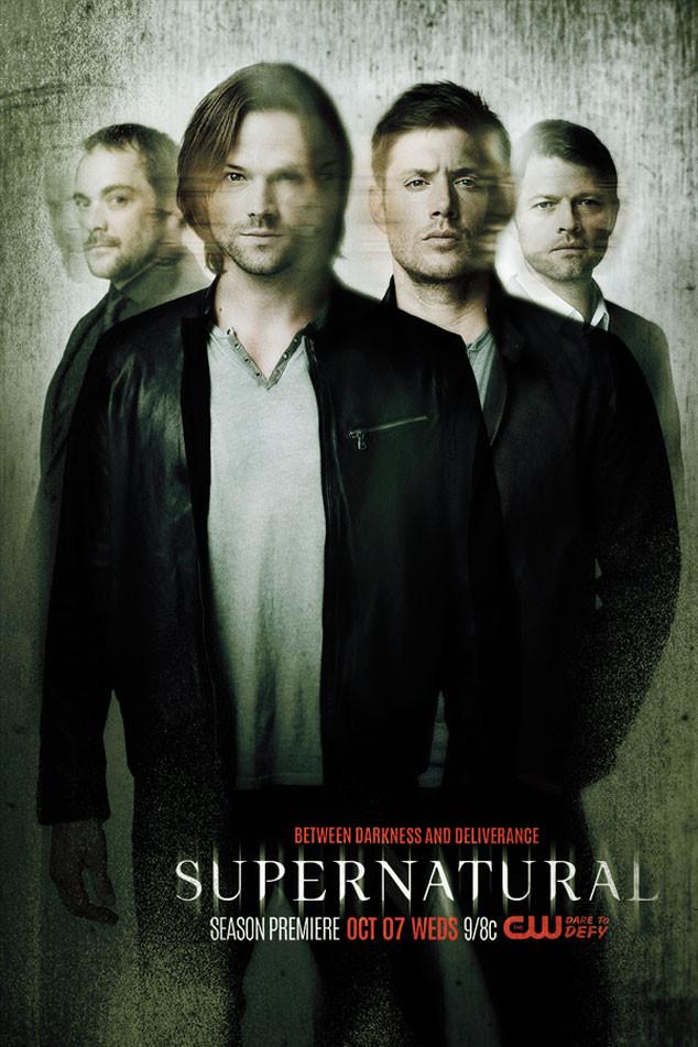 Supernatural: la locandina per l'undicesima stagione