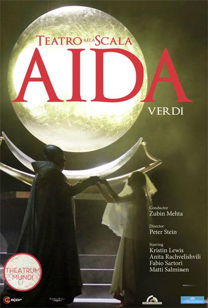 Locandina di Aida - Teatro alla Scala