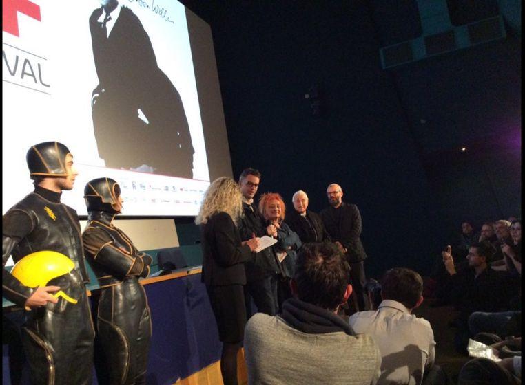 Nicolas Winding Refn introduce Terrore nello spazio insieme a Fulvio Lucisano al Torino Film Festival