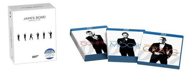 Il package di The Ultimate James Bond