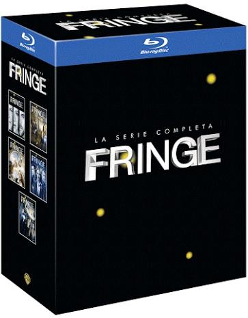 la cover di Fringe in blu-ray