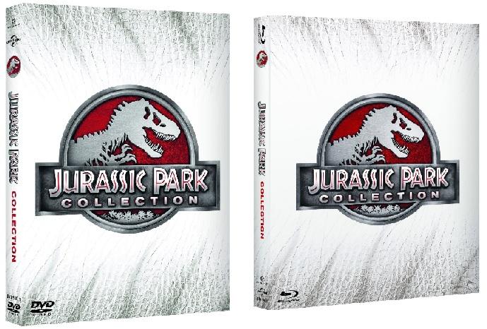 Le cover di Jurassic Park Collection